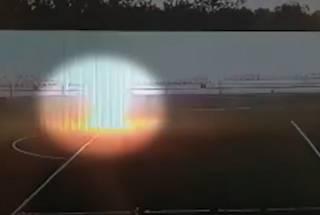 Появилась видео, как молния поразила юного российского вратаря