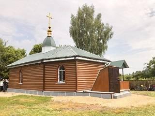 На Черниговщине освятили новый храм УПЦ, построенный вместо захваченного ПЦУ