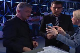 «Слуга народа» Верещук и Порошенко сцепились в прямом эфире из-за поздравления с Днем России