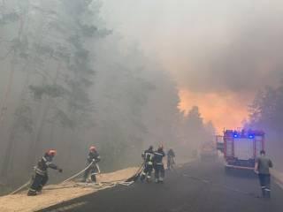 Огненный апокалипсис на Луганщине: сгорели десятки домов, погибли люди