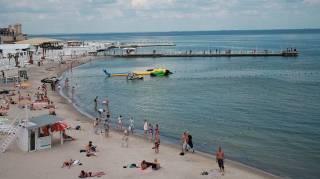 На всех одесских пляжах категорически не рекомендуют купаться