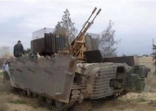 Сирийский экзамен для «советских» БМП