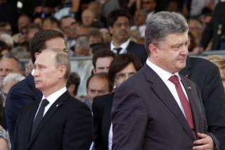 Опубликован дружественный телефонный разговор людей, похожих на Путина и Порошенко