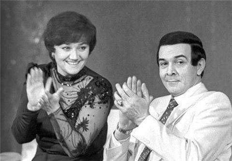 Муслим Магомаев с женой