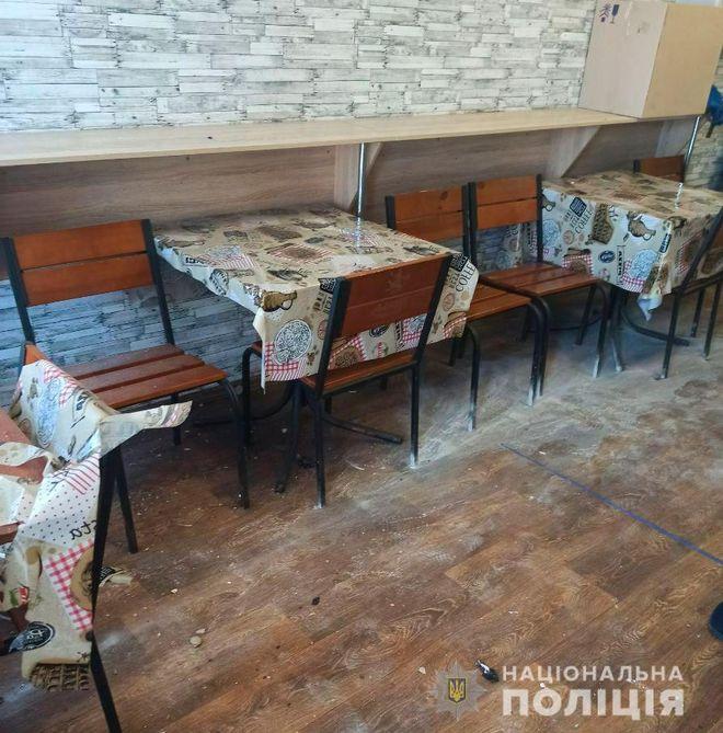 В двух кафе на рынках Полтавы прогремели взрывы