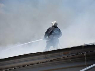 В центре Одессы загорелось здание, построенное в эпоху наполеоновских войн