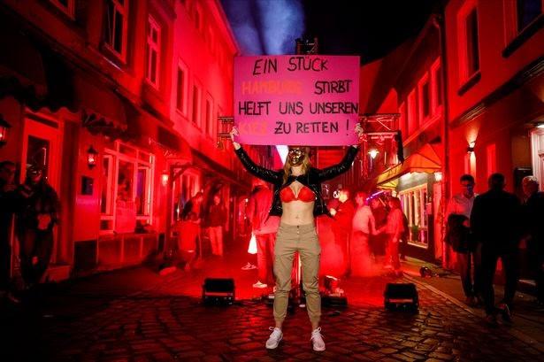 Акция протеста проституток в Германии