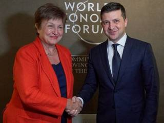 Стали известны подробности беседы Зеленского с руководством МВФ