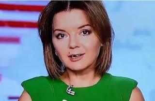 У известной журналистки прямо во время прямого эфира выпал зуб