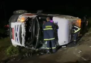 Жуткое ДТП в Ужгороде: лихач на BMW протаранил машину «скорой помощи»