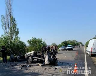 В жуткой аварии на Одесчине погибли шесть человек