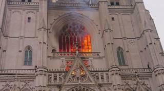 Пожар в нантском соборе Святых Петра и Павла это знак католикам [обновлено 26.07.2020]