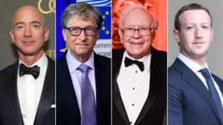 Вы не поверите, но состояние 26 самых богатых людей эквивалентно доходам почти 4 миллиардов жителей Земли