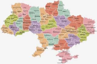 Количество районов в Украине сократилось более, чем втрое. Опубликованы новые карты