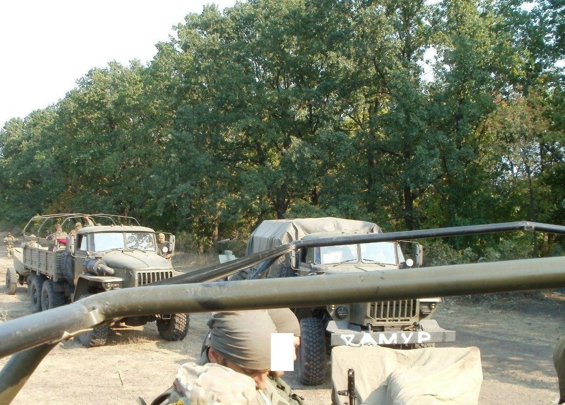 Колонна боевиков «Амура»