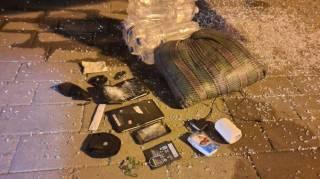 В Сети показали арсенал оружия луцкого террориста, который он взял с собой на дело