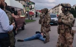 Появилось странное видео задержания луцкого террориста