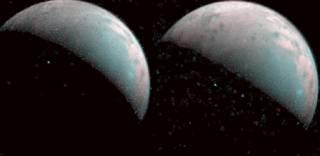 Появились уникальные съемки космического льда со спутника Юпитера