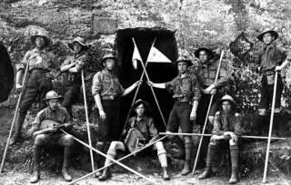 «Лесные черти» из табакерки: скауты, националисты и масонство