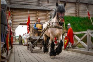 На этих выходных под Киевом можно прогуляться на лошадях и посетить средневековую пыточную