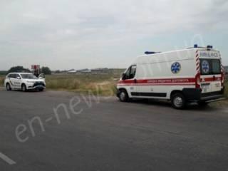 На Запорожье водитель умер прямо во время движения