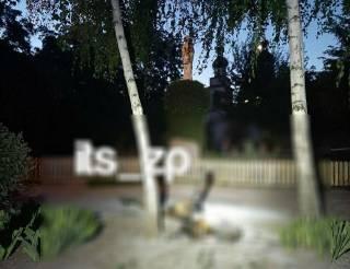 У стен храма в Запорожье нашли сожженный труп девушки