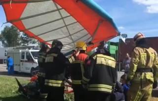 Под Москвой разбился мотодельтаплан – погибли люди