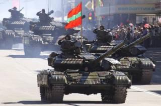 Первая война Т-64: Приднестровье, 1992 год