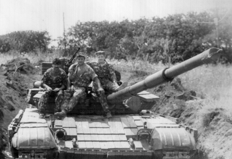 Приднестровский танк Т-64