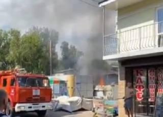 На базе отдыха под Одессой взрывались газовые баллоны