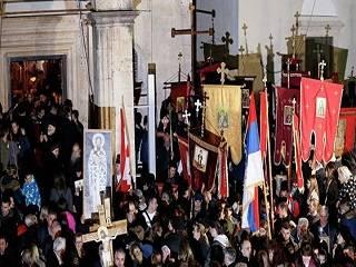 В Черногории задержаны более 300 человек за протесты в поддержку Церкви