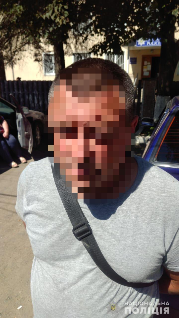 Виновник ДТП в Хусте Закарпатской области