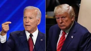 В США измерили президентский рейтинг Байдена и Трампа