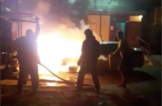 В Броварах сгорела машина программы «Схемы», данные которой опубликовал Портнов