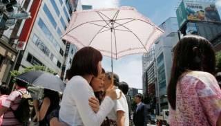 В Японии зафиксирована рекордная в истории страны жара