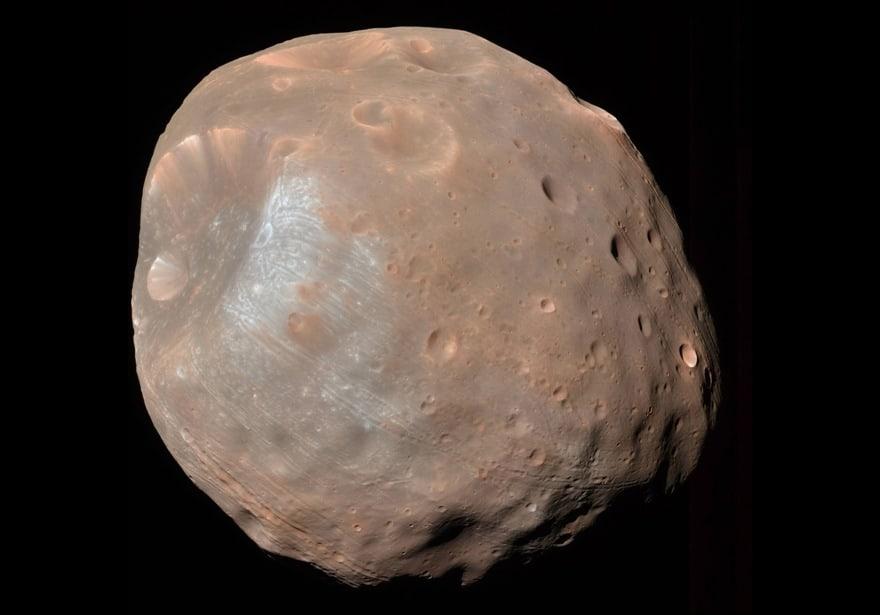 спутник Марса — Фобос