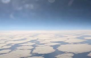Российские военные показали полет истребителя в стратосфере