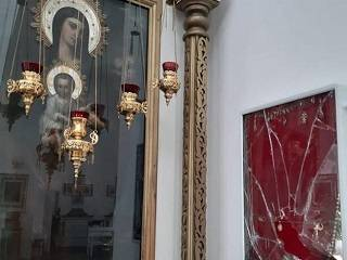 В Херсоне похищены все украшения из киота чудотворного образа «Благодатное Небо»