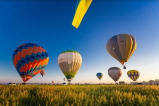 Фестиваль воздушных шаров под Киевом продлили