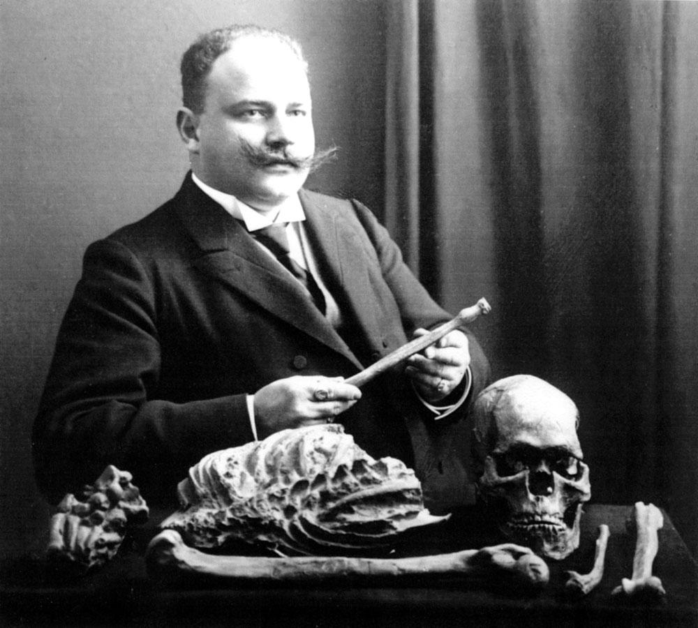 Отто Хаузер скелет кроманьонца
