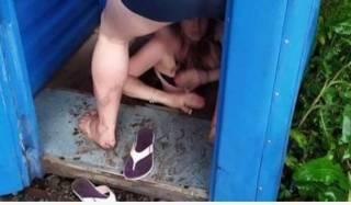 В Хмельницком попытка заняться сексом в общественном туалете окончилась в выгребной яме