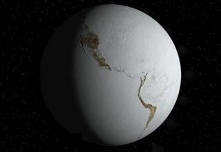 Стало известно, какой была температура на нашей планете 2,6 миллиона лет назад
