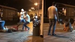 Массовая драка произошла в центре Полтавы. Гасились даже девушки