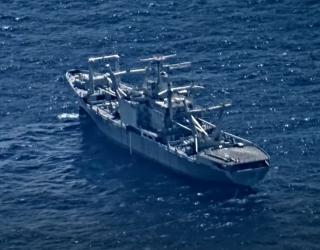 Появилось эпичное видео с учений ВМФ США