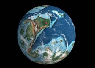 В Сети появилась карта расположения современных городов за последние 750 млн лет