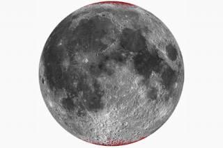 Ученые обнаружили на Луне земную ржавчину