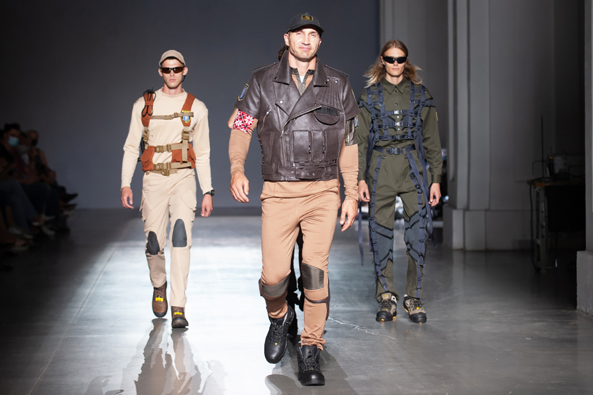 Владимир Кличко на показе в рамках Украинской недели моды в Киеве