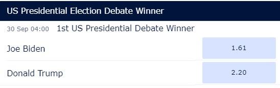 Выборы президента США: дебаты
