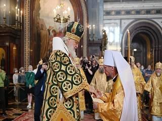 Предстоятеля Белорусской Православной Церкви возвели в сан митрополита