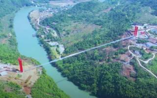 Появилось видео чудо-моста в Китае